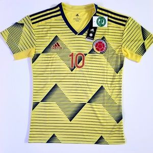 New Season 19-20 Colombia James Jersey